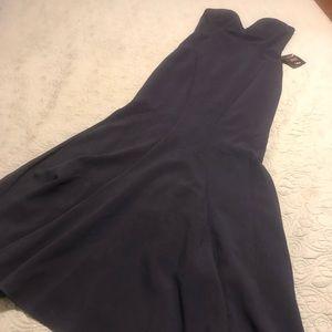 NWT ballgown/mermaid fit dress L
